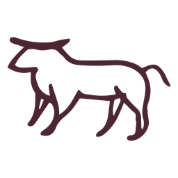 Egyptian traditional ram symbol