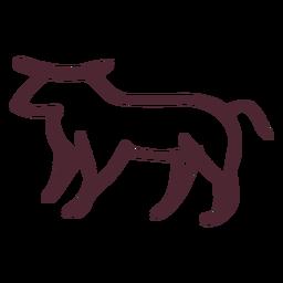 Símbolo de carnero tradicional egipcio