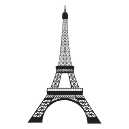 Eiffelturm Silhouette