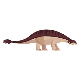 Extinct dinosaur vector