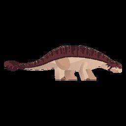 Vetor de dinossauro extinto