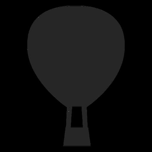 Ícone de balão de ar liso Transparent PNG