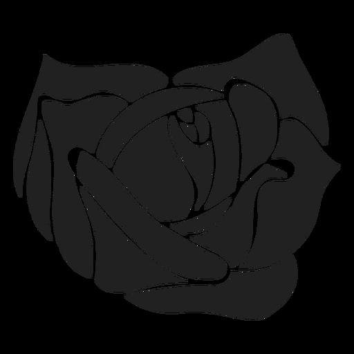 Icono de flor plana