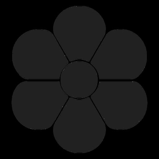 Flache Blume Symbol Blume Transparent PNG