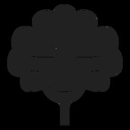 Flat flower vector