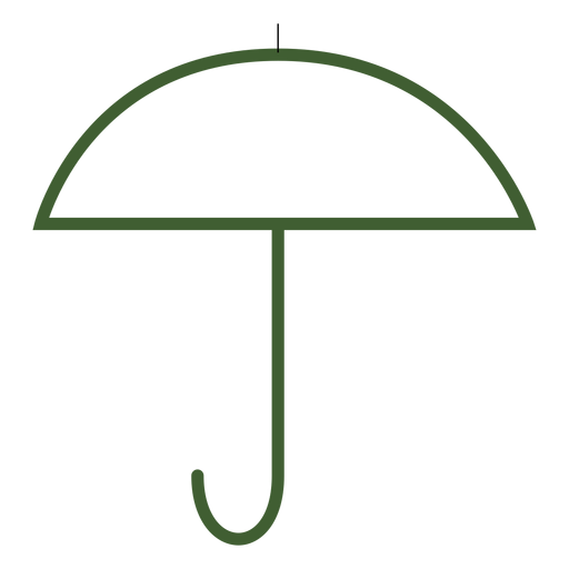 Flat umbrella icon umbrella Transparent PNG
