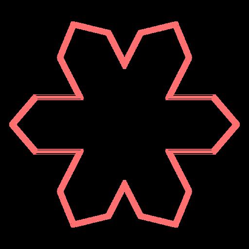 Floral line style vector Transparent PNG