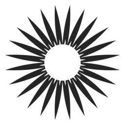 Floral Silhoutte-Symbol