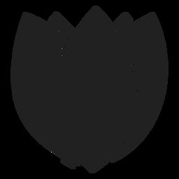 Icono de la yema de flor