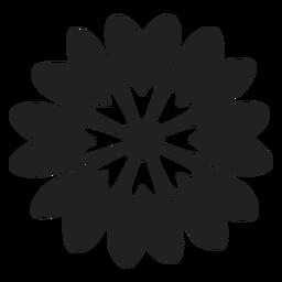 Blume Gänseblümchen-Symbol