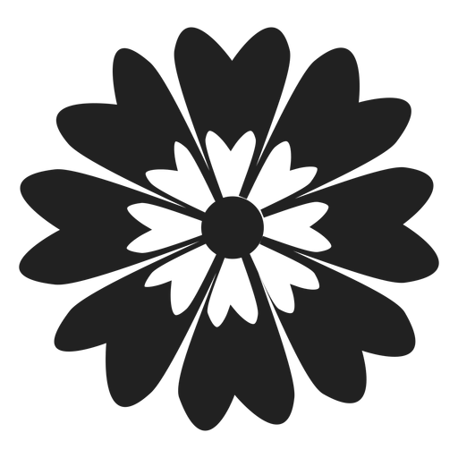 Blume Gänseblümchen-Symbol Transparent PNG