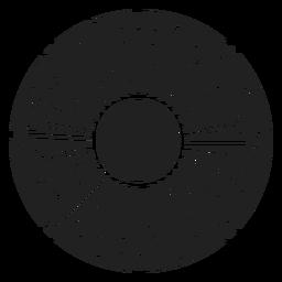 Flor, aneto, buquet, ícone