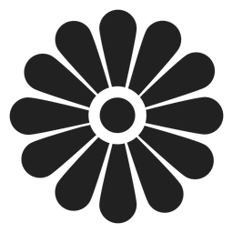 Flower outline icon