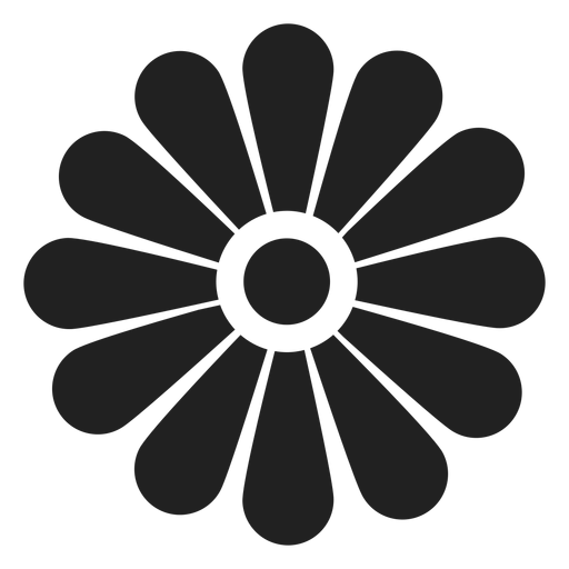 Flower outline icon Transparent PNG
