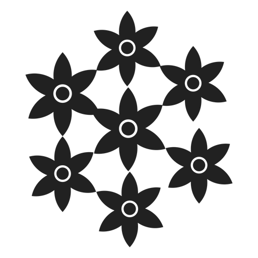 Blume gesetztes Symbol Transparent PNG