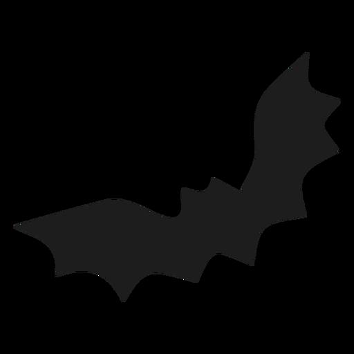 Volar murciélago negro silhoutte Transparent PNG