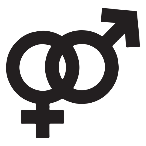 Geschlechtssymbol Silhouette Transparent PNG