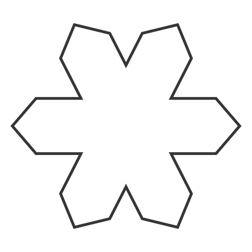Geometric shape line style icon Transparent PNG