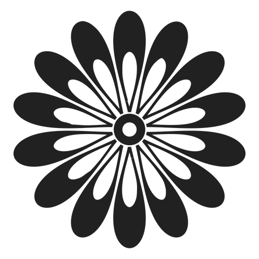 Gerbera daisy flower icon - Transparent PNG & SVG vector