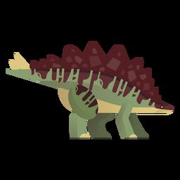 Gigantspinosaurus-Dinosaurier-Vektor