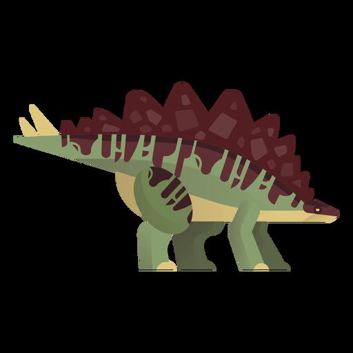 Gigantspinosaurus dinosaur vector Transparent PNG