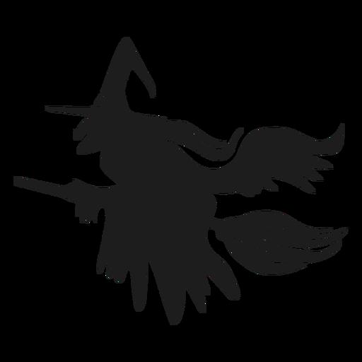 Halloween bruxa silhueta dia das bruxas Transparent PNG