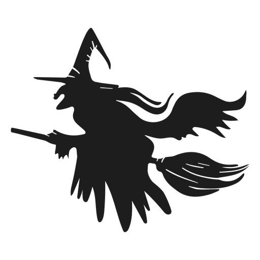 Halloween Witch Silhouette Halloween Transparent Png Svg