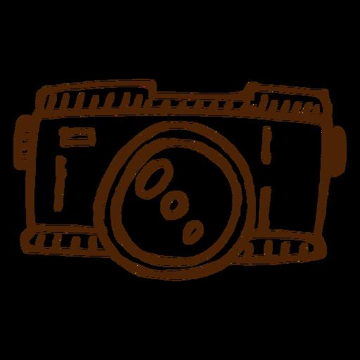 Mão, desenhado, ícone câmera, acampamento Transparent PNG