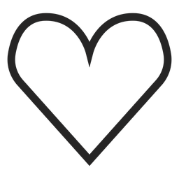 Mão, desenhado, cute, coração, ícone