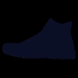 Hi cut sneakers silhouette