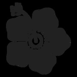 Icono de flor de hibisco