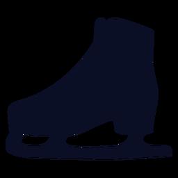 Icono de patines de hielo