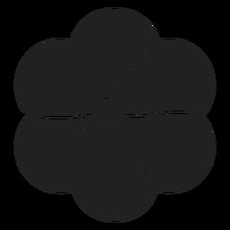 Vetor de flor de jasmim
