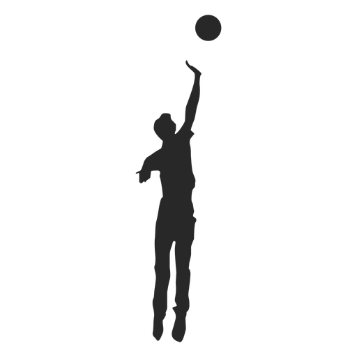 Jump spike silhouette Transparent PNG