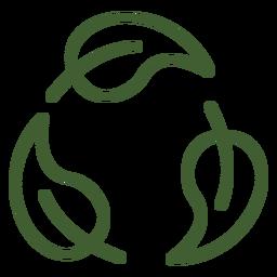 Deixa o ícone do ciclo