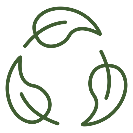 Leaves cycle icon Transparent PNG