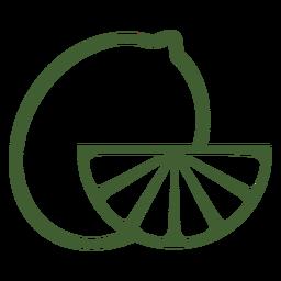 Icono de fruta de limón