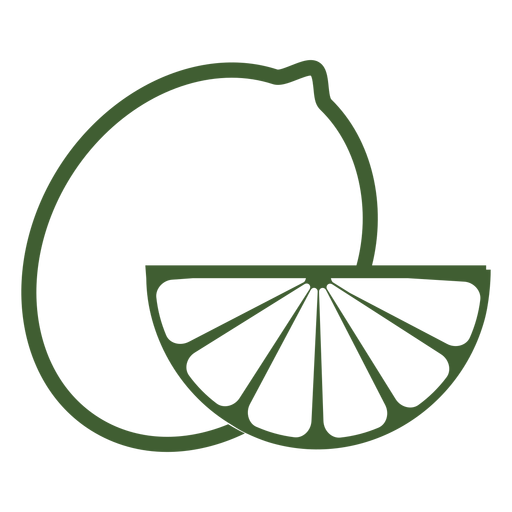 Icono de fruta de limón Transparent PNG