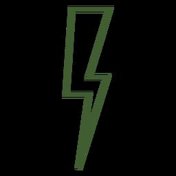 Lightning bolt icon lightning bolt