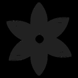 Lila Blumenvektor