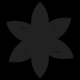 Icono de flor de lirio