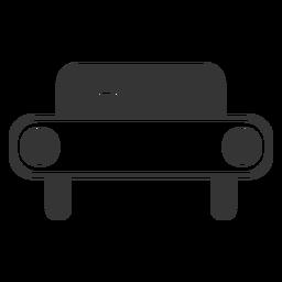 Linienart Auto Symbol