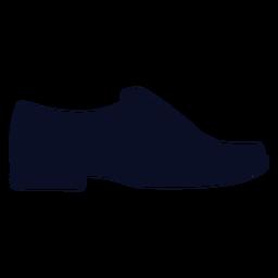 Silhueta de sapatos de mocassins