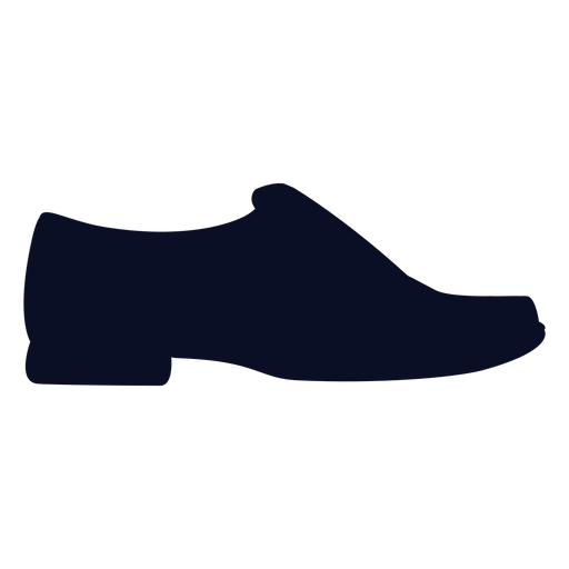 Loafers shoes silhouette Transparent PNG