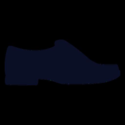 Silhueta de sapatos de mocassins Transparent PNG
