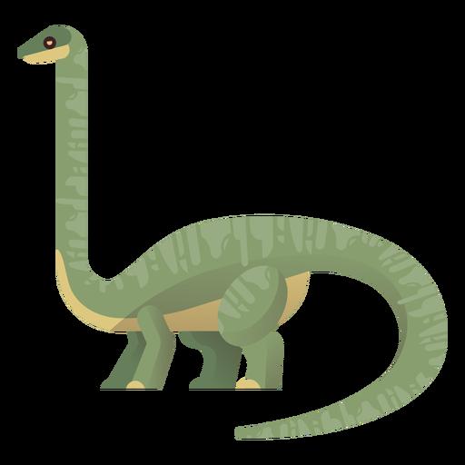 Long neck brachiosaurus vector Transparent PNG