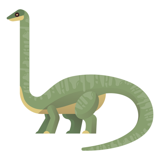 Vector de cuello largo brachiosaurus Transparent PNG