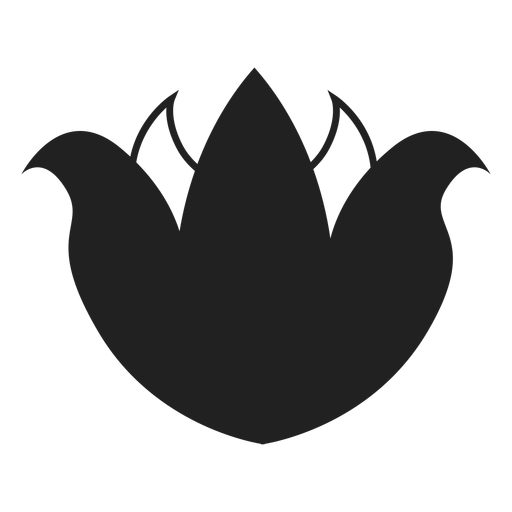 Lotus flower icon Transparent PNG