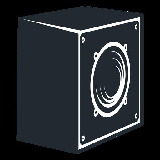 Ícone de vista lateral de alto-falante Transparent PNG