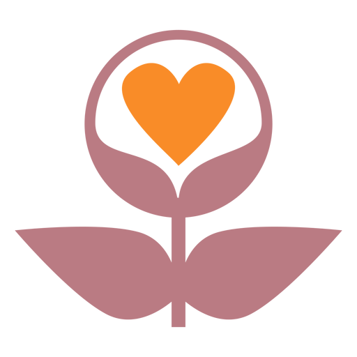 Love plants line style icon Transparent PNG